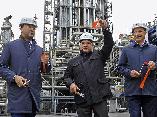 ВТюменской области ввели вэксплуатацию установку глубокой переработки мазута
