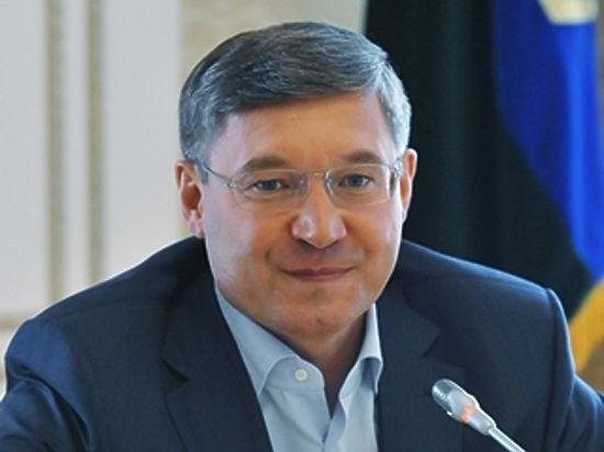 Тюменский губернатор Владимир Якушев выступает сежегодным посланием