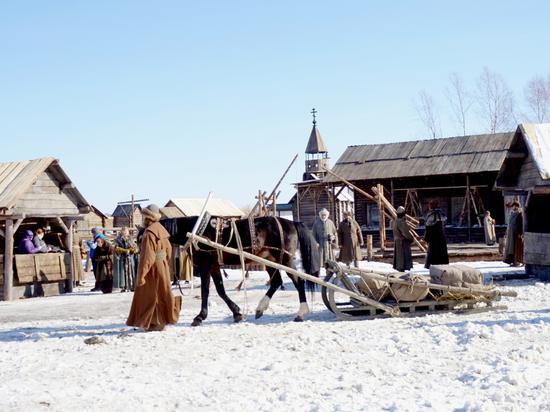 В Тобольске снимают кино