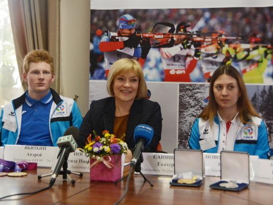 Тюменские биатлонисты завоевали медали на престижных международных состязаниях