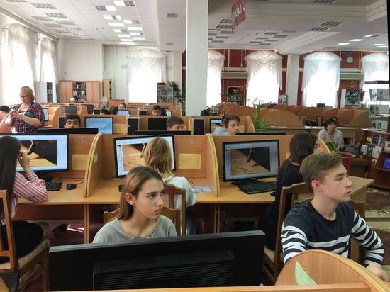 Школьники побывали вТюмГУ на VIIIТюменском фестивале науки