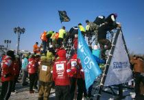 На Туре впервые состоялся зимний экстремальный забег