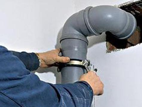 монтаж канализационных труб своими руками.
